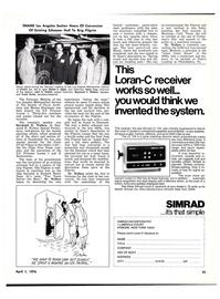 Maritime Reporter Magazine, page 45,  Apr 1976