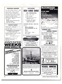 Maritime Reporter Magazine, page 52,  Apr 1976