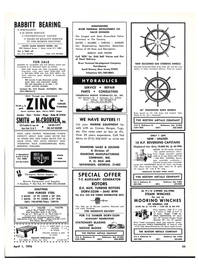 Maritime Reporter Magazine, page 55,  Apr 1976 Kirk Rowel