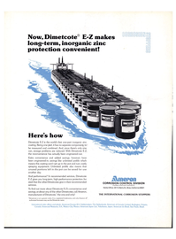 Maritime Reporter Magazine, page 4th Cover,  Apr 1976 Dimetcote