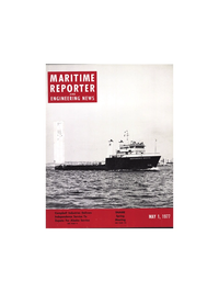 Maritime Reporter Magazine Cover May 1977 -