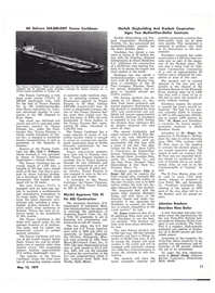 Maritime Reporter Magazine, page 9,  May 15, 1977