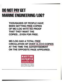 Maritime Reporter Magazine, page 27,  May 15, 1977