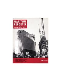 Maritime Reporter Magazine Cover Jun 1977 -