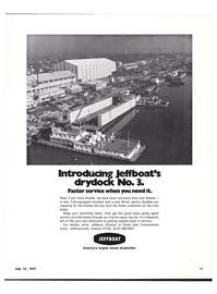 Maritime Reporter Magazine, page 9,  Jul 15, 1977