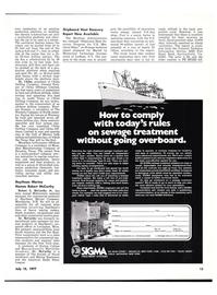 Maritime Reporter Magazine, page 11,  Jul 15, 1977