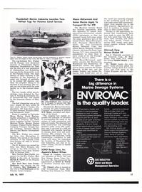 Maritime Reporter Magazine, page 15,  Jul 15, 1977