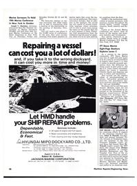 Maritime Reporter Magazine, page 4th Cover,  Jul 15, 1977