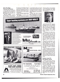 Maritime Reporter Magazine, page 36,  Aug 1977