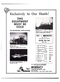 Maritime Reporter Magazine, page 3rd Cover,  Aug 1977