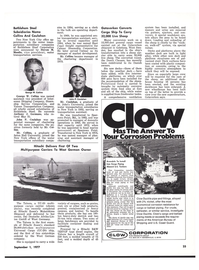 Maritime Reporter Magazine, page 23,  Sep 1977