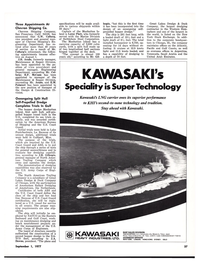 Maritime Reporter Magazine, page 33,  Sep 1977