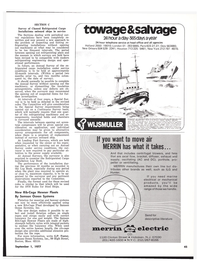 Maritime Reporter Magazine, page 37,  Sep 1977