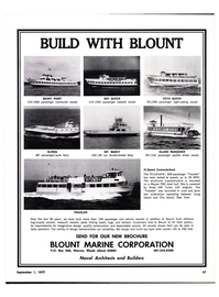 Maritime Reporter Magazine, page 51,  Sep 1977
