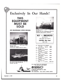 Maritime Reporter Magazine, page 53,  Sep 1977