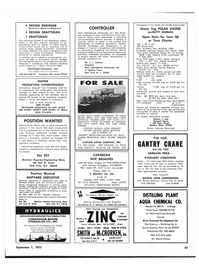 Maritime Reporter Magazine, page 59,  Sep 1977