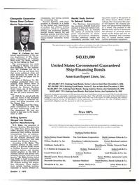 Maritime Reporter Magazine, page 9,  Oct 1977