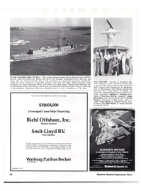 Maritime Reporter Magazine, page 18,  Oct 15, 1977