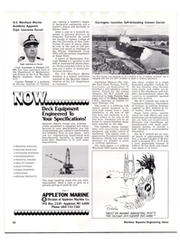 Maritime Reporter Magazine, page 20,  Oct 15, 1977