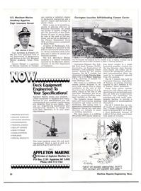 Maritime Reporter Magazine, page 20,  Oct 15, 1977