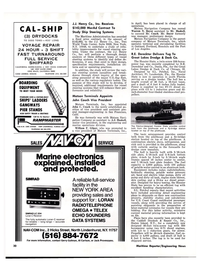 Maritime Reporter Magazine, page 28,  Oct 15, 1977