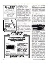 Maritime Reporter Magazine, page 28,  Oct 15, 1977
