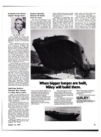 Maritime Reporter Magazine, page 33,  Oct 15, 1977
