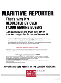 Maritime Reporter Magazine, page 37,  Oct 15, 1977