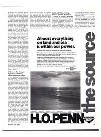 Maritime Reporter Magazine, page 41,  Oct 15, 1977