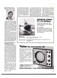 Maritime Reporter Magazine, page 49,  Oct 15, 1977
