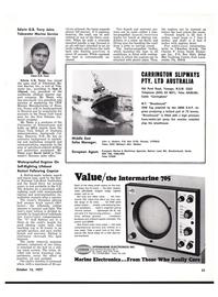 Maritime Reporter Magazine, page 49,  Oct 15, 1977