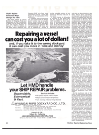 Maritime Reporter Magazine, page 50,  Oct 15, 1977