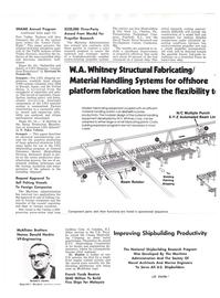 Maritime Reporter Magazine, page 10,  Nov 1977 Bertrand De Frondeville