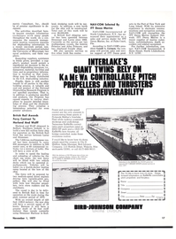 Maritime Reporter Magazine, page 17,  Nov 1977 Indiana