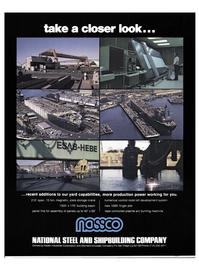 Maritime Reporter Magazine, page 31,  Nov 1977 Kaiser Industries Corporation