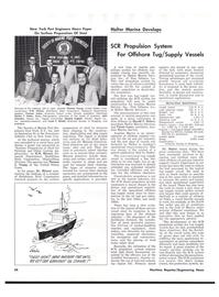 Maritime Reporter Magazine, page 34,  Nov 1977 Louis V. Minett
