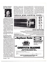 Maritime Reporter Magazine, page 37,  Nov 1977 New York