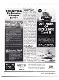 Maritime Reporter Magazine, page 2,  Nov 1977 Ben F. Butler
