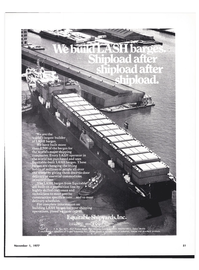 Maritime Reporter Magazine, page 53,  Nov 1977 TrirfityTndustries Inc.