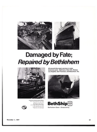 Maritime Reporter Magazine, page 61,  Nov 1977 ship repair services