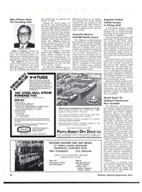 Maritime Reporter Magazine, page 72,  Nov 1977 New York