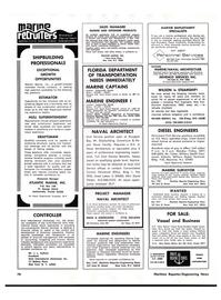Maritime Reporter Magazine, page 4th Cover,  Nov 1977 Delaware