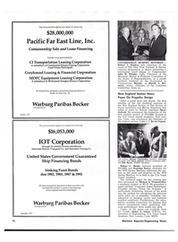 Maritime Reporter Magazine, page 10,  Nov 15, 1977 Robert J. Hughes