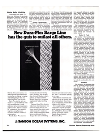 Maritime Reporter Magazine, page 16,  Nov 15, 1977 Samson Dura-Plex Braid