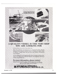 Maritime Reporter Magazine, page 19,  Nov 15, 1977 Hyundai Heavy Industries Co. Ltd.