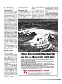 Maritime Reporter Magazine, page 27,  Nov 15, 1977 Texas