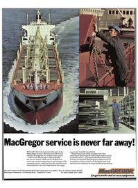 Maritime Reporter Magazine, page 3rd Cover,  Nov 15, 1977 transfer equipment