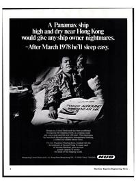 Maritime Reporter Magazine, page 4,  Nov 15, 1977 Hongkong United Dockyards Ltd.