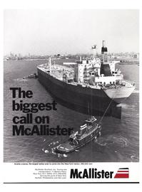Maritime Reporter Magazine, page 1,  Dec 1977 McAllister Brothers Inc.