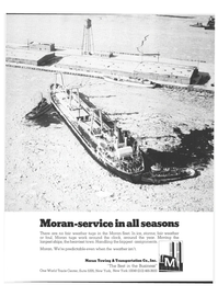 Maritime Reporter Magazine, page 9,  Jan 1978 Moran Towing & Transportation Co. Inc.